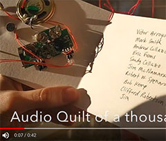 An Audio Quilt of One Thousand Names