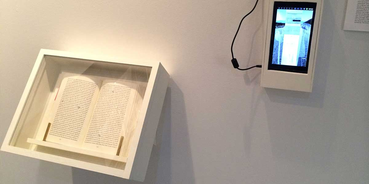 On The Web, Book and Tablet Installation